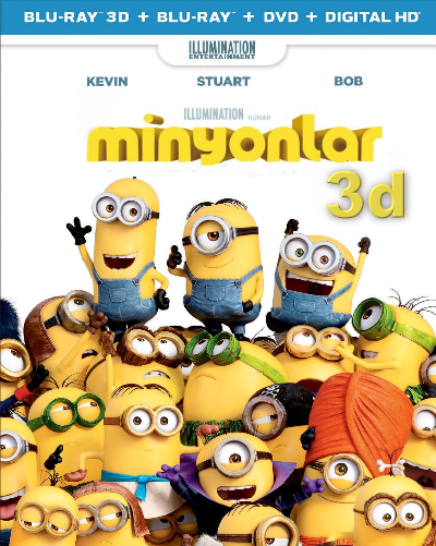 Minions 3d – Minyonlar 3d 2015 1080p 3D Half SBS DuaL Türkçe Dublaj EN İNDİR