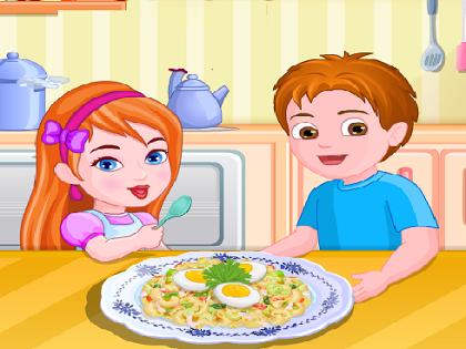 Makarna Salatası Oyunu