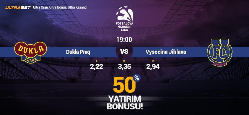 Dukla Praq vs Vysocina Jihlava – Ultrabett'e Canlı İzle