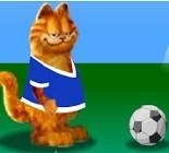 Futbolcu Garfield Oyunu