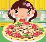 Meyveli Pizza Hazırla Oyunu