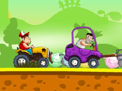 Çiftçi Yarışları Oyunu