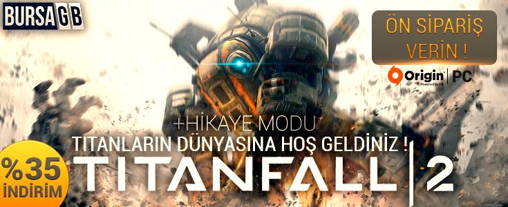 %35 Indirimli Titanfall 2 Origin Cd Key Satisi Basladi ! - ÖN SIPARIS