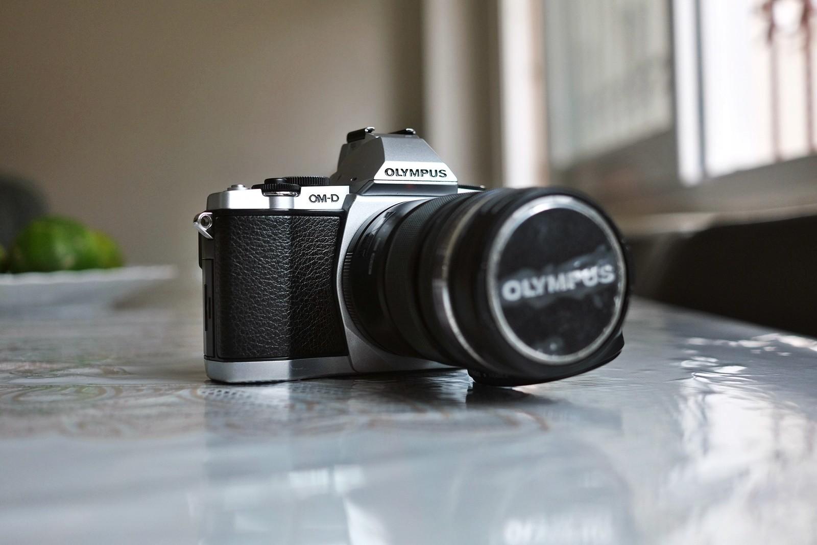 Olympus OMD E-M5 Gövde + Olympus 12-50mm + Panasonic 45-150mm