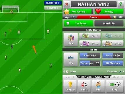 New Star Soccer v1.19 Hileli Apk İndir