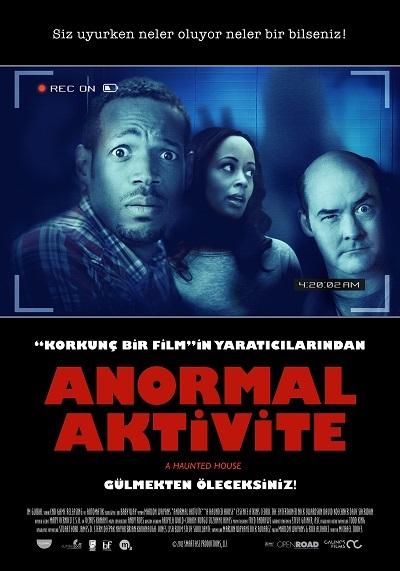 Anormal Aktivite  - A Haunted House 2013  BRRip XviD Türkçe Dublaj İndir