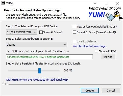 YUMI – Multiboot USB Creator