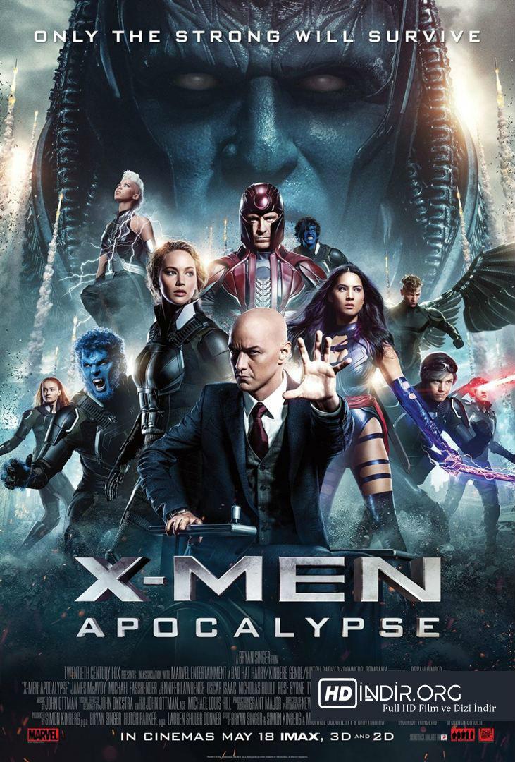 X-Men: Apocalypse (2016) Türkçe Dublaj HD Film indir