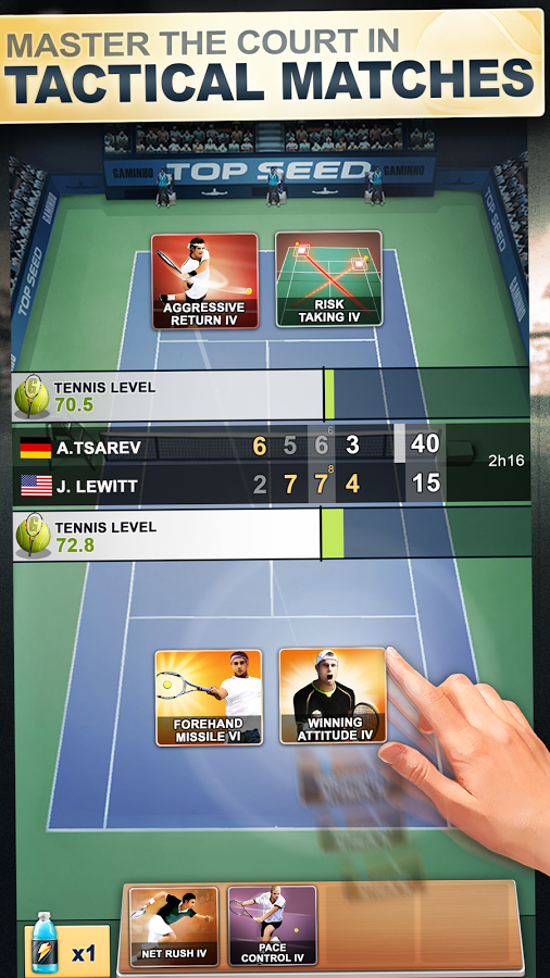 TOP SEED Tennis: Sports Management & Strategy Game Apk