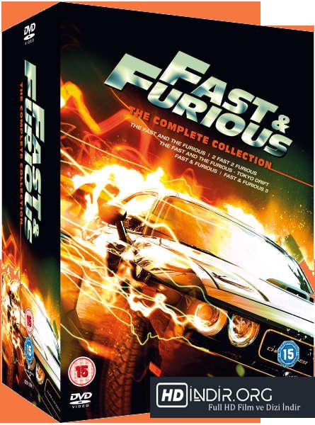 Hızlı ve Öfekeli Boxset (1-2-3-4-5-6-7) Tüm Bölümler HD Film indir