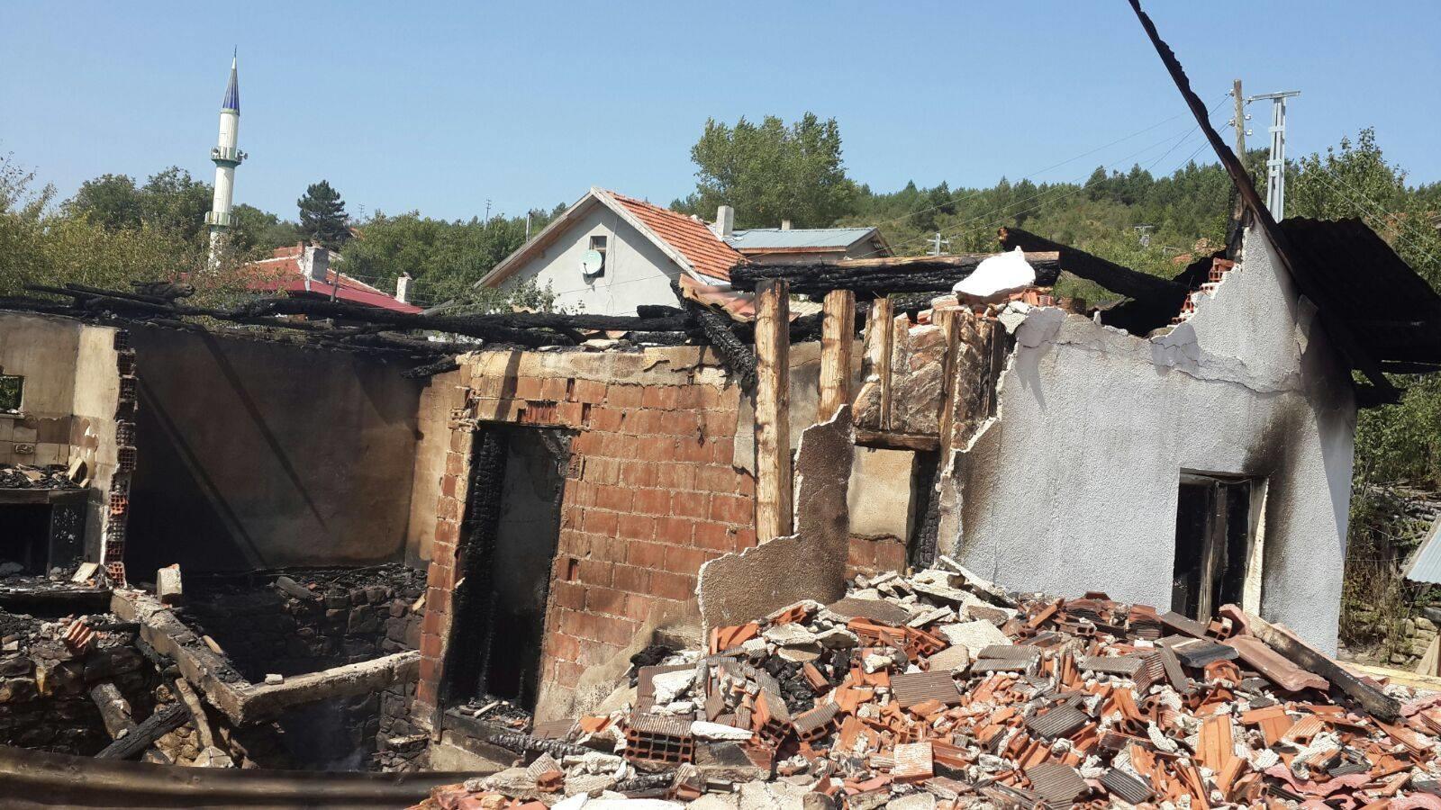 Eflani Günlüce Köyü Yangın