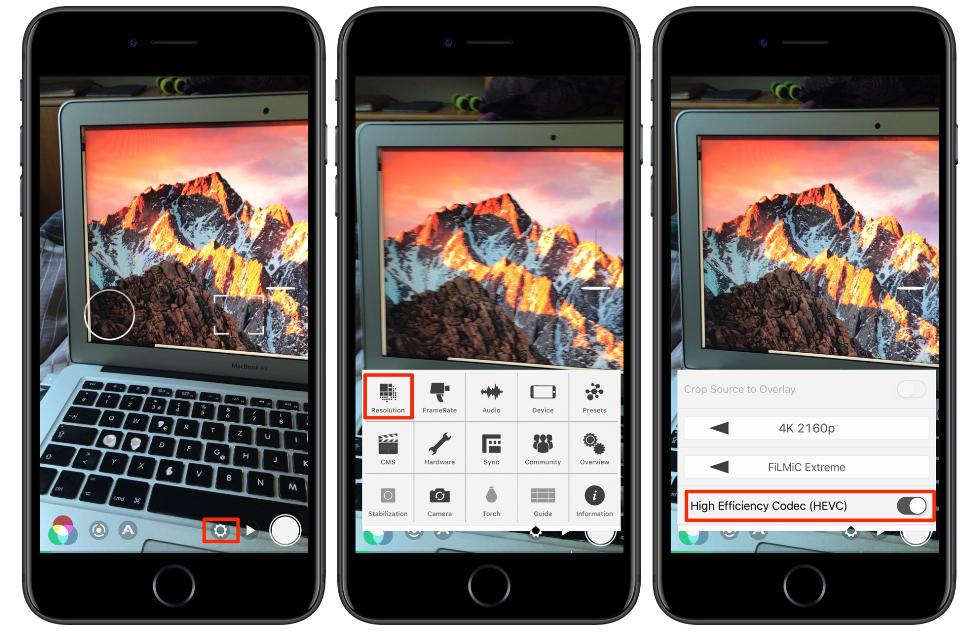 nJrZag - FiLMiC Pro Uygulaması Artık HEVC Formatında Çekebiliyor!