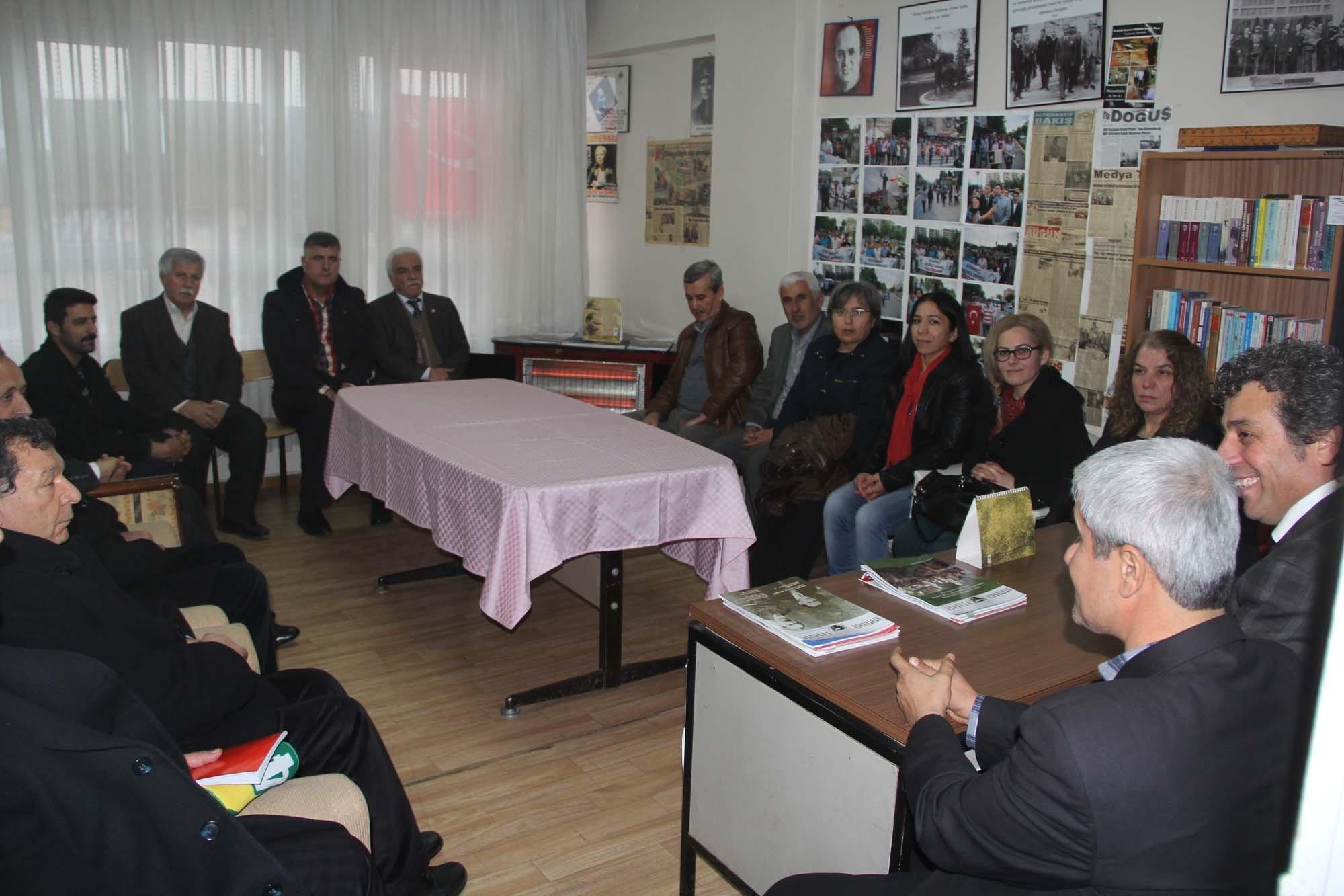 CHP Heyetinden ADD'ye Ziyaret