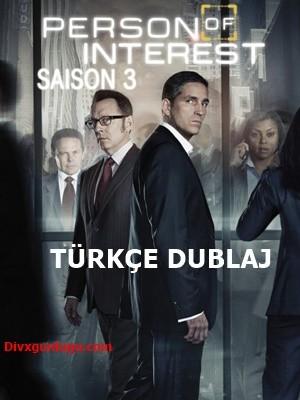 Person of Interest – Şüpheli Şahıs 3.Sezon WEB-DL x264 Tüm Bölümler Türkçe Dublaj – Tek Link