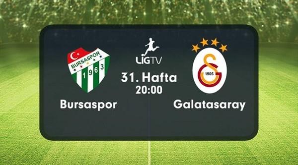Bursaspor - Galatasaray 31.Hafta HDTV 720p - indir