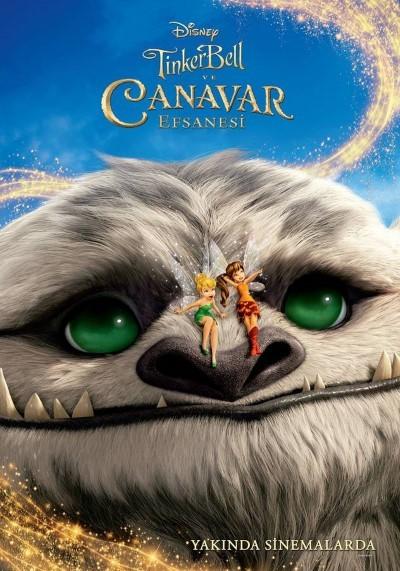 Tinker Bell ve Canavar Efsanesi (2014) - türkçe dublaj film indir - hd film indir