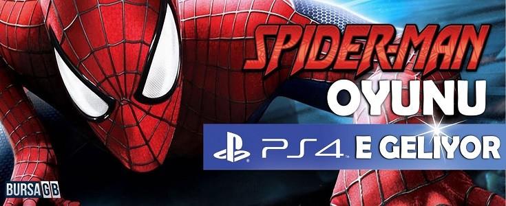 Spider Man Oyunu PS4 İçin Geliyor