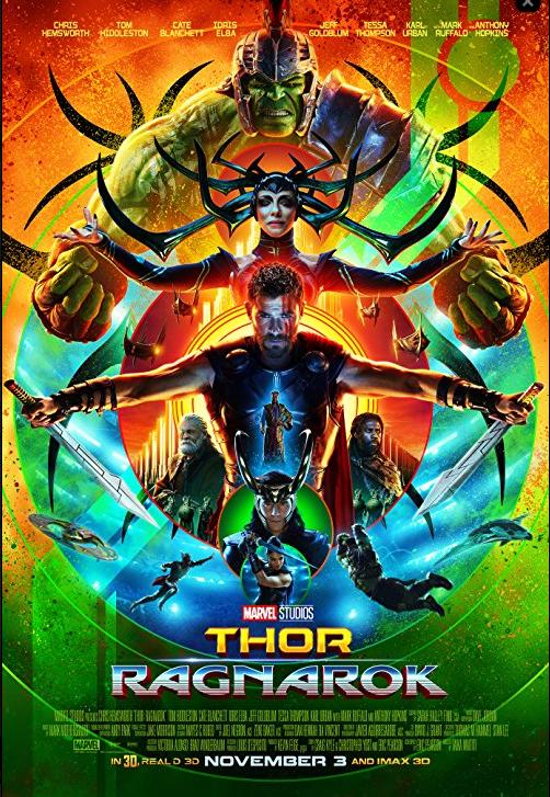 Thor: Ragnarok | 2017 | DUAL (TR-ENG) | 720p | BLURAY | x264