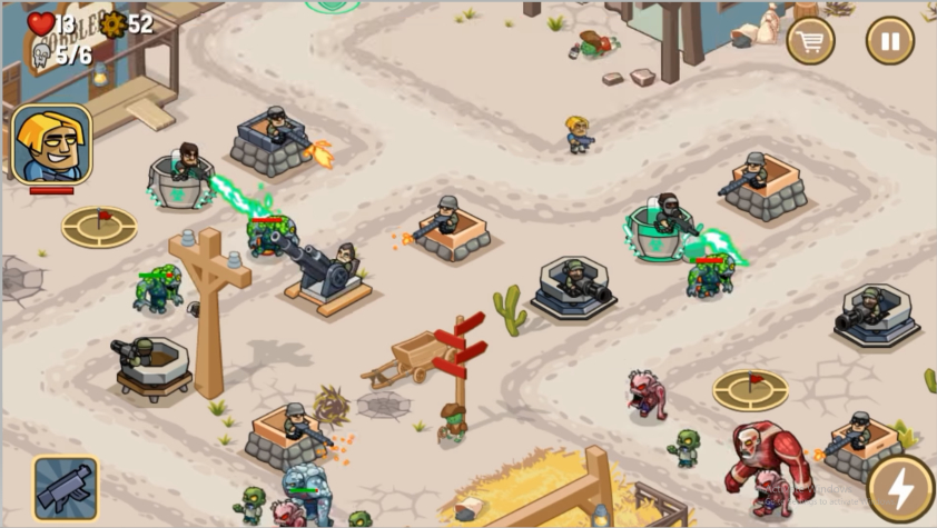 Zombie World: Tower Defense Apk Oyu