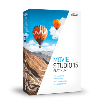 VEGAS Movie Studio Platinum 15 Pack