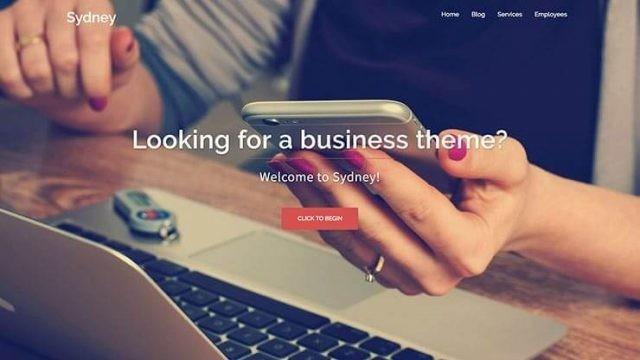 Wordpress Sydney Kurumsal Firma Teması