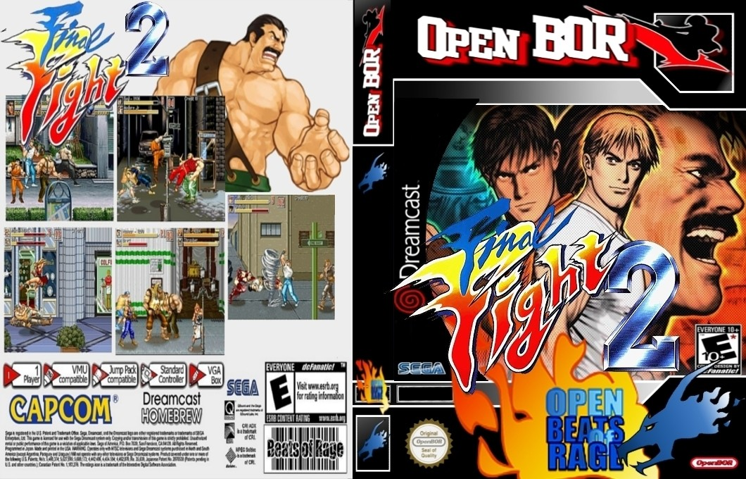 Final Fight 2 OPENBOR TO PS4