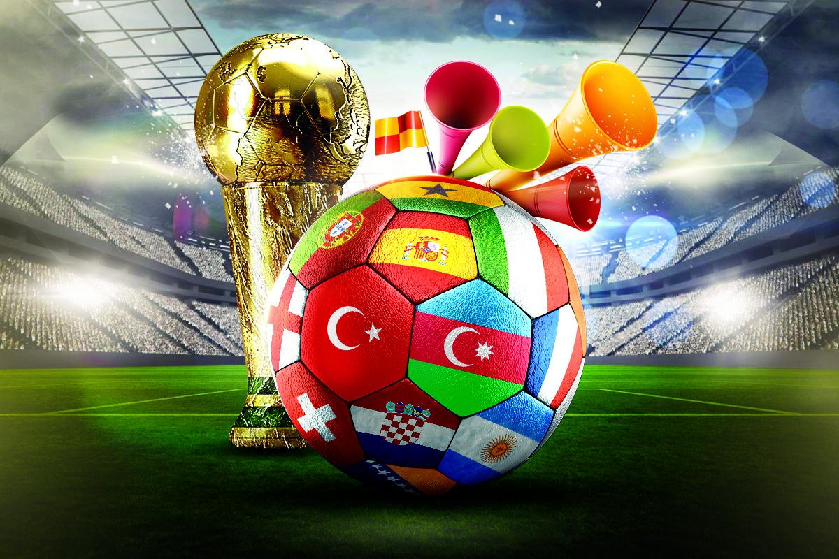 Dünya Kupası Afiş PSD İndir
