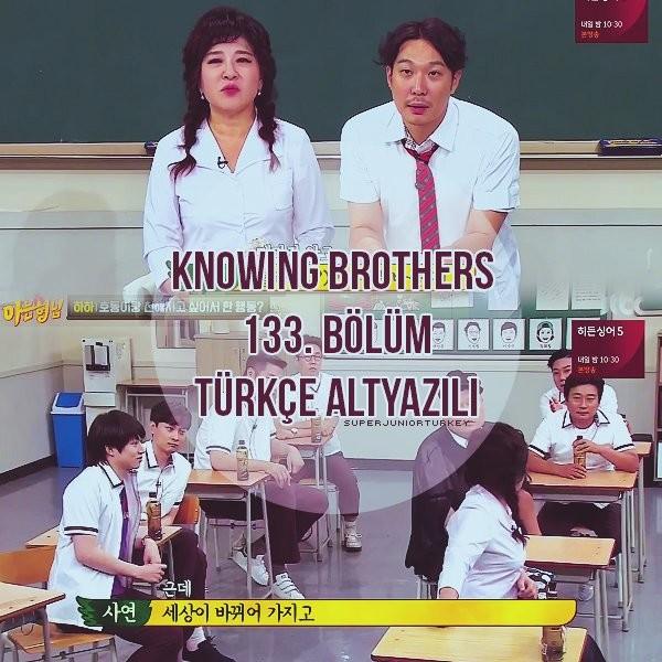 Knowing Brothers 133. Bölüm (Haha, Sa Yeon) [Türkçe Altyazılı] NQmzEg
