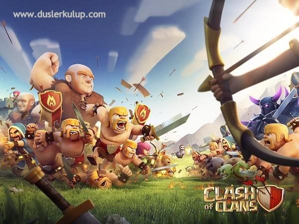 Clash of Clans 9.105 Android Oyununu Hileli İndir