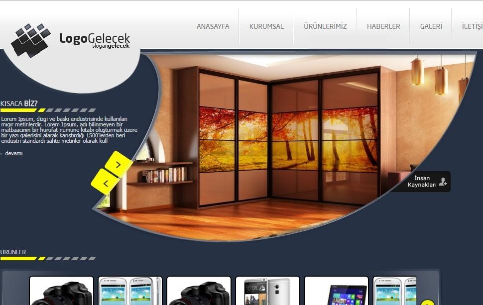 Hazır Web Sitesi Firma V2