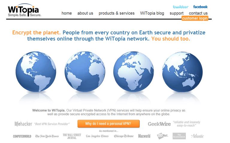 WiTopia VPN