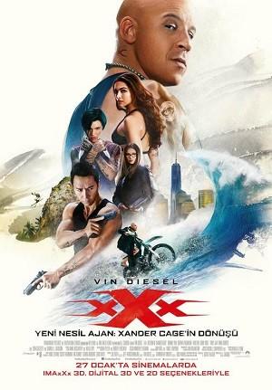 Yeni Nesil Ajan: Xander Cage'in Dönüşü - xXx: Return of Xander Cage 2017 BRRip XViD Türkçe Dublaj  - Film indir  Tek Link Film indir