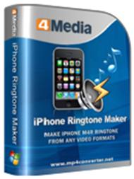 4Media iPhone Ringtone Maker Full İndir