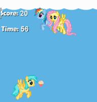 uçan poniler oyunu