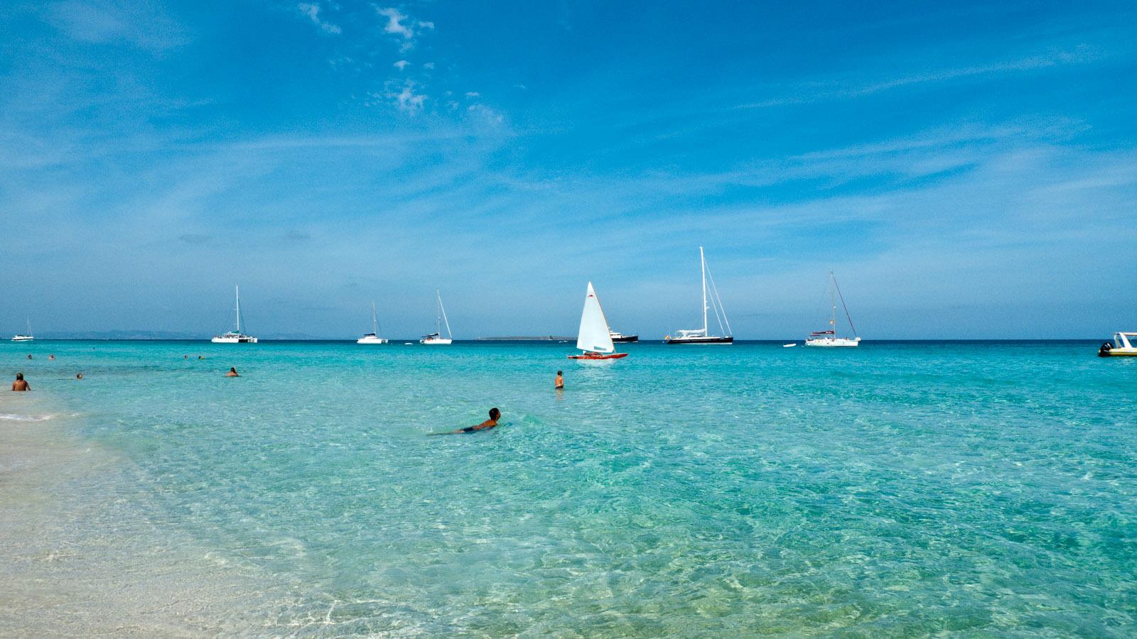 Formentera illetes Beach