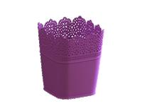 plastik dantel saksı