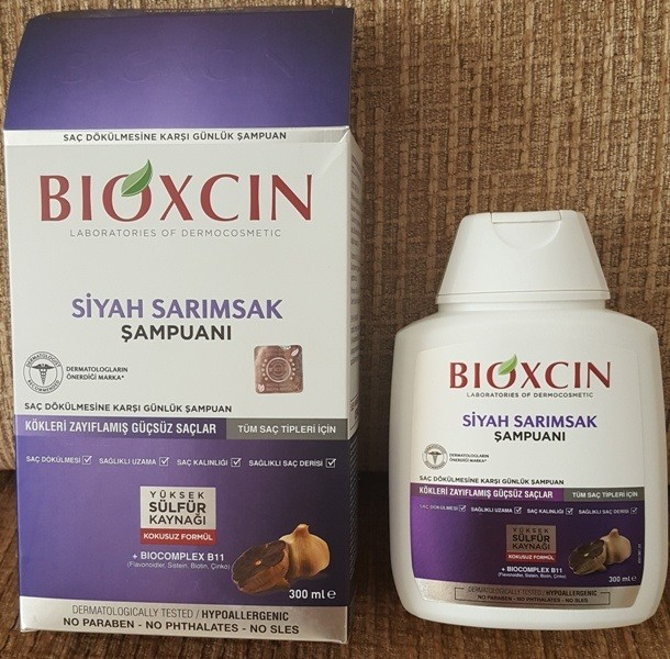 Bioxcin Siyah Sarimsakli Sampuan Yeni Olan