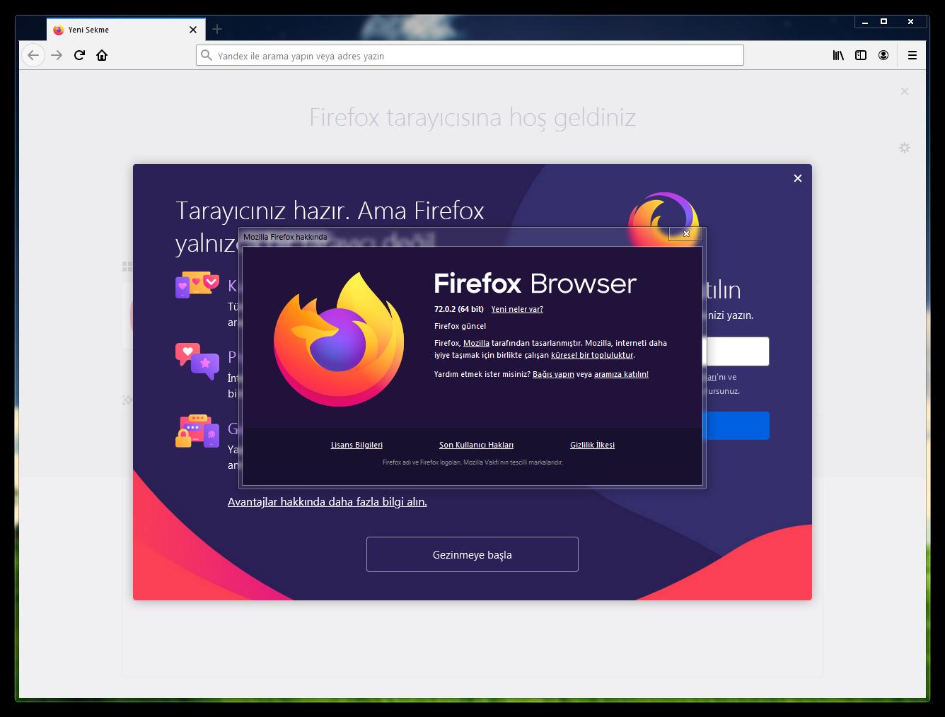 Mozilla Firefox 74.0.1 Final | EN-TR | Katılımsız