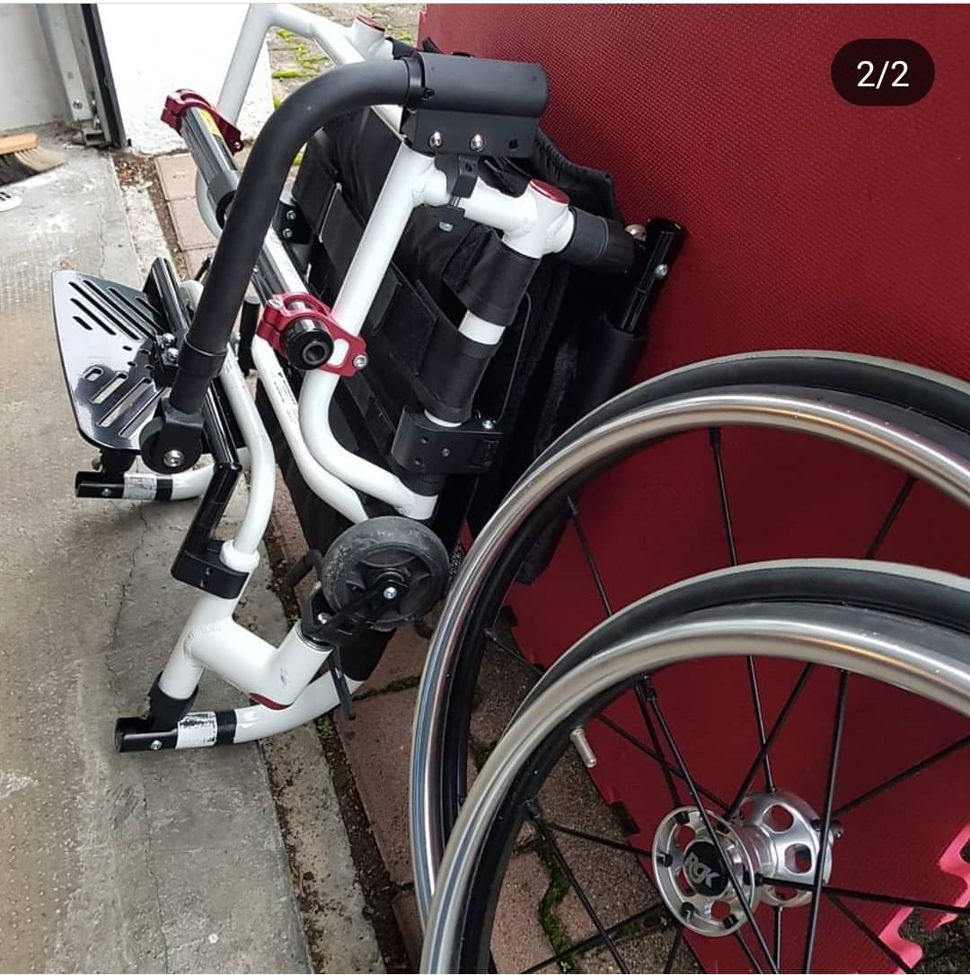 nbd53l - RGK Tiga FX aktif tekerlekli sandalye satılıktır