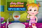 Bebek Hazel Banyo Temizliği