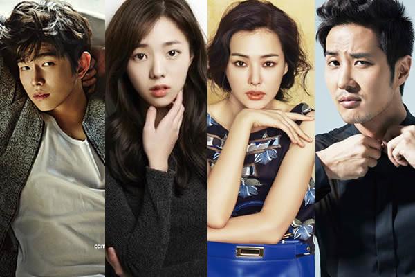 """Yoon Gyun-Sang, Chae Soo-Bin, Lee Honey, Kim Ji-Suk """"Traitor Hong Gil-Dong"""" Dizisinin Kadrosunda"""