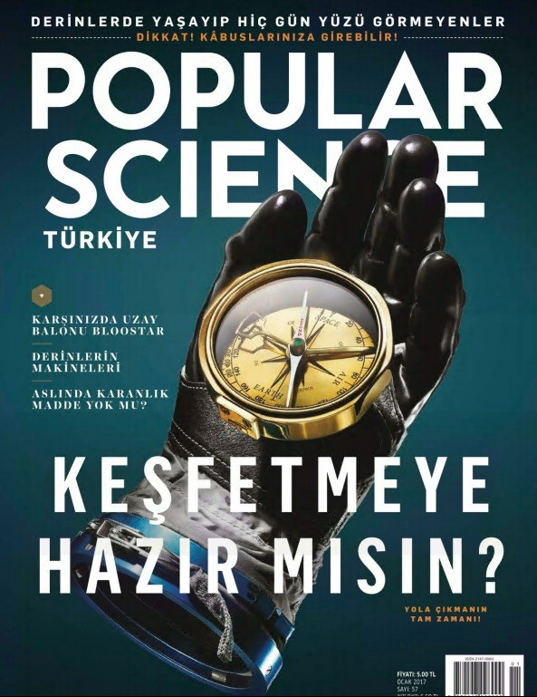 Popular Science Ocak 2017