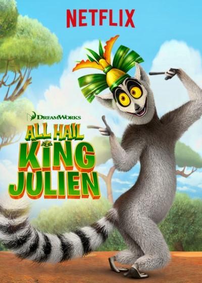 All Hail King Julien (2014–) Yabancı Animasyon Dizi 1. Sezon tüm bölümler türkçe dublaj indir