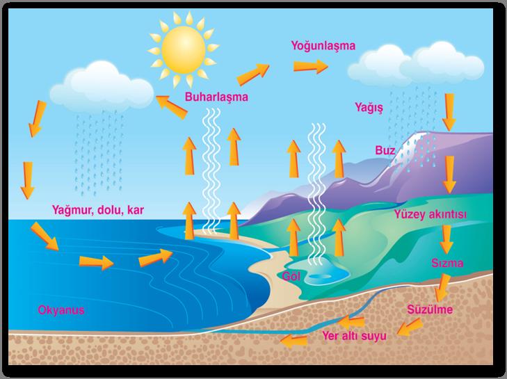 Su Döngüsü Nedir nasıl oluşur