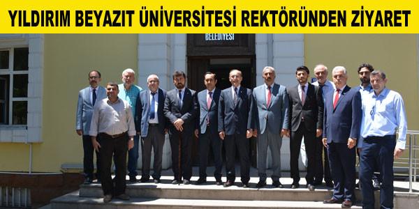 Rektör Prof.Dr.Metin Doğan'ın ziyareti