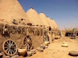 harran eski yapılı evleri