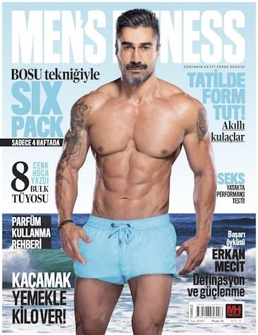 Men's Fitness Temmuz 2018
