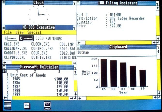 Windows 1.0 (1985)