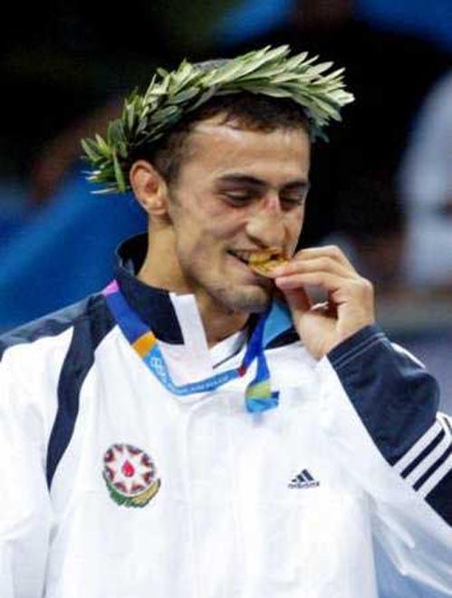 Olimpiya çempionu Fərid Mansurov