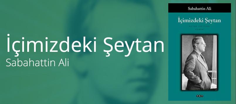Icimizdeki Seytan Sabahattin Ali